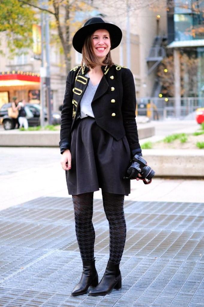 Toronto fashion week style
