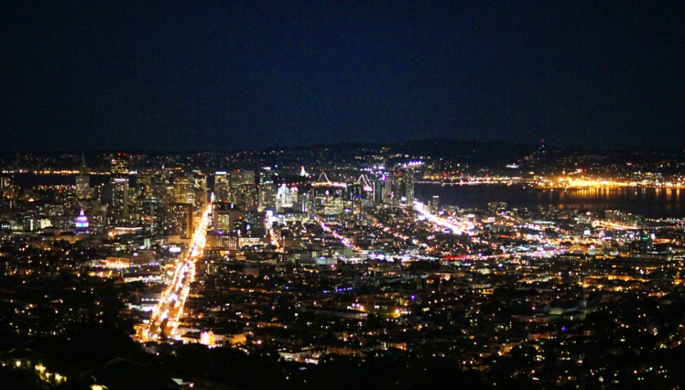San Francisco Twin Peaks View