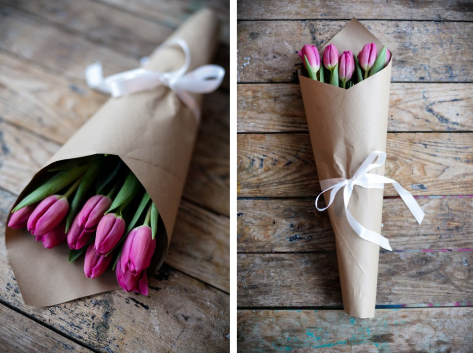 How to Wrap Flowers - Creative Ideas & Step by Step Guide - Threads ...