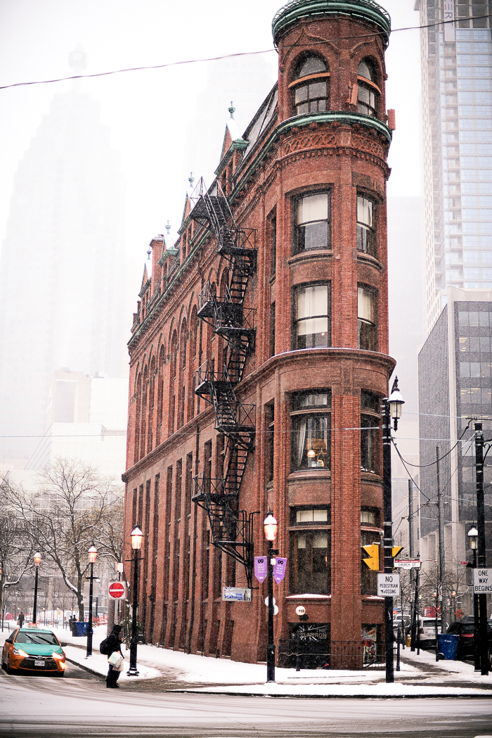 The Flatiron Building Toronto
