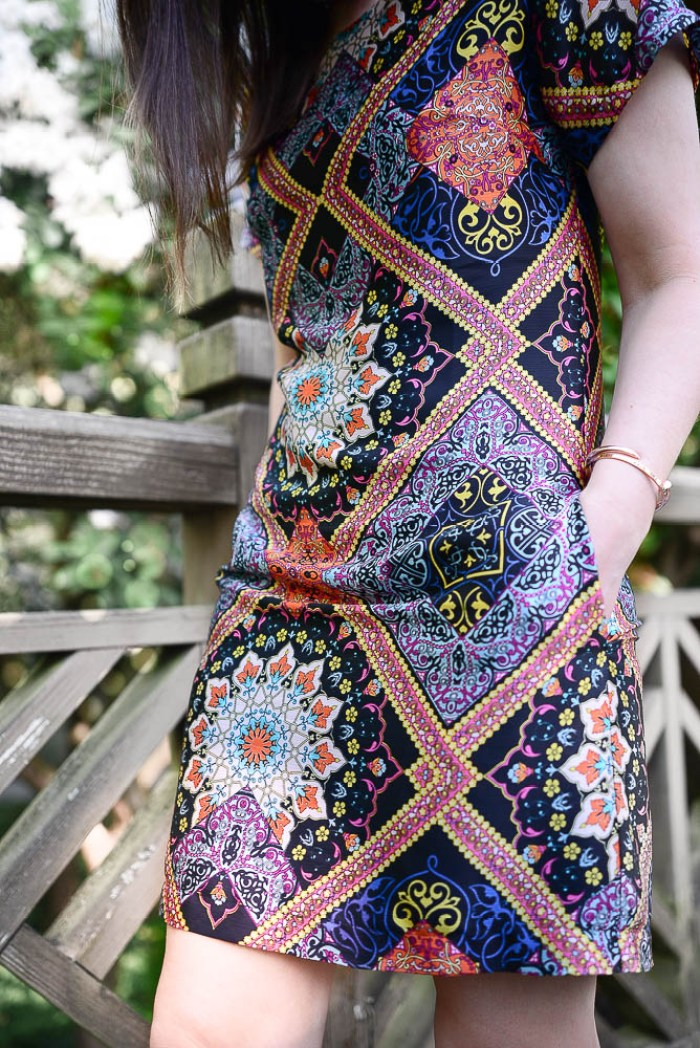 Bergstrom Dress worn by Threads & Blooms