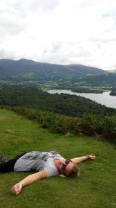 Climbing Cat Bells, Lake District