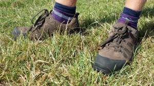 Rubber bumper on the Men's Field Extreme shoes