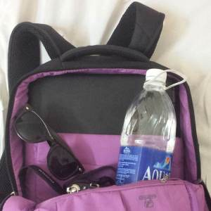"""Plenty of room for my 15.6"""" laptop plus all my travel essentials!"""