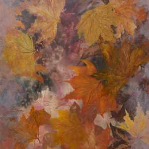 fall leaves art, nature art, autumn leaves art