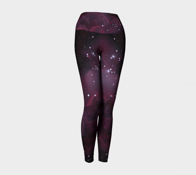 Space Leggings, Galaxy Leggings, Galaxy Print