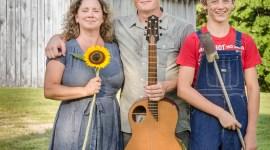 Tallahassee May, Kipp Krusa and Sawyer of Turnbull Creek Farm