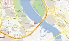 al boom tourist village location map dubai