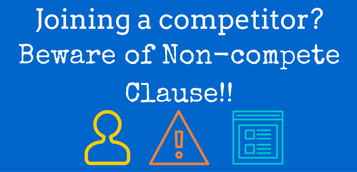Can you join your Competitor after resigning?
