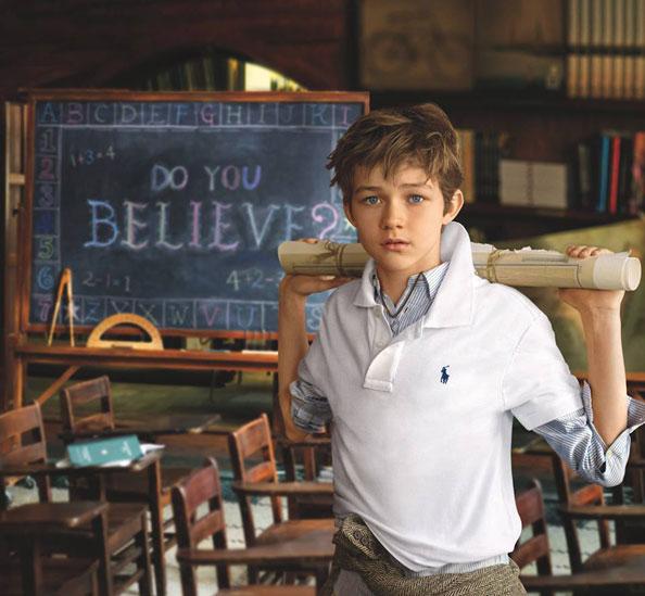 Levi Miller Pan Movie Ralph Lauren Fall Campaign
