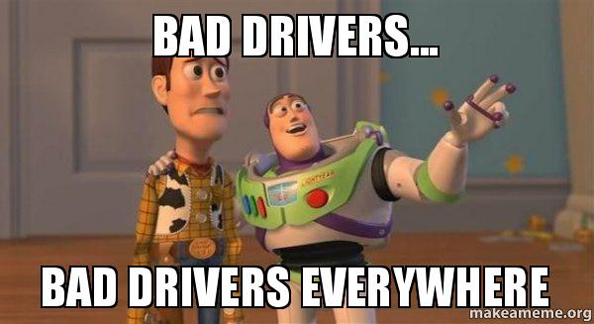 bad drivers dubai
