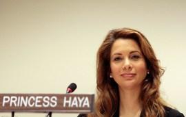 Princess Haya Offers Health Advice To New Mums