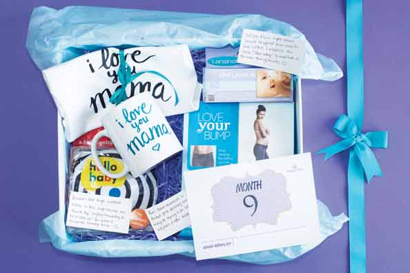 Personalised gift-box from Mama's Box