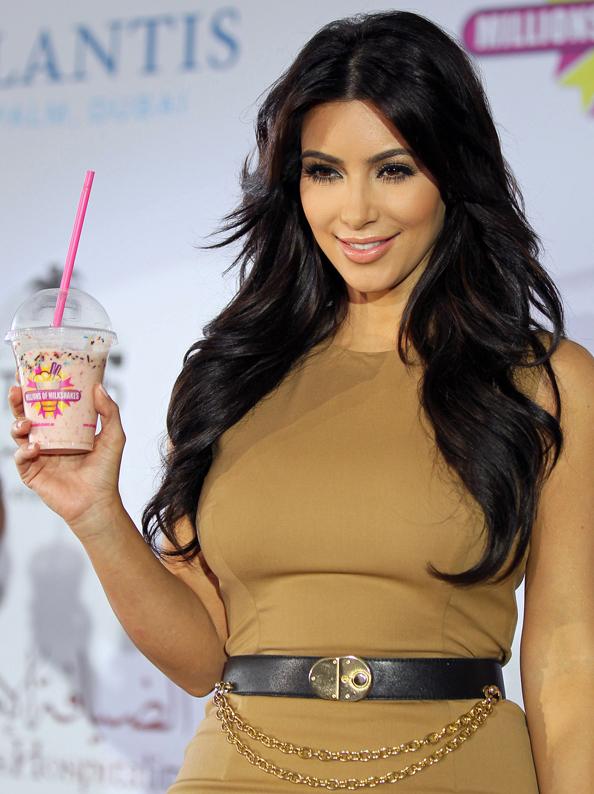 Kim Kardashian launched Millions of Milkshakes