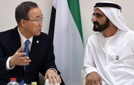 UN Secretary-General Praises Sheikh Mohammed's Vision For The UAE