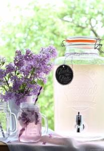EmmaBee Rezept Flieder-Limonade