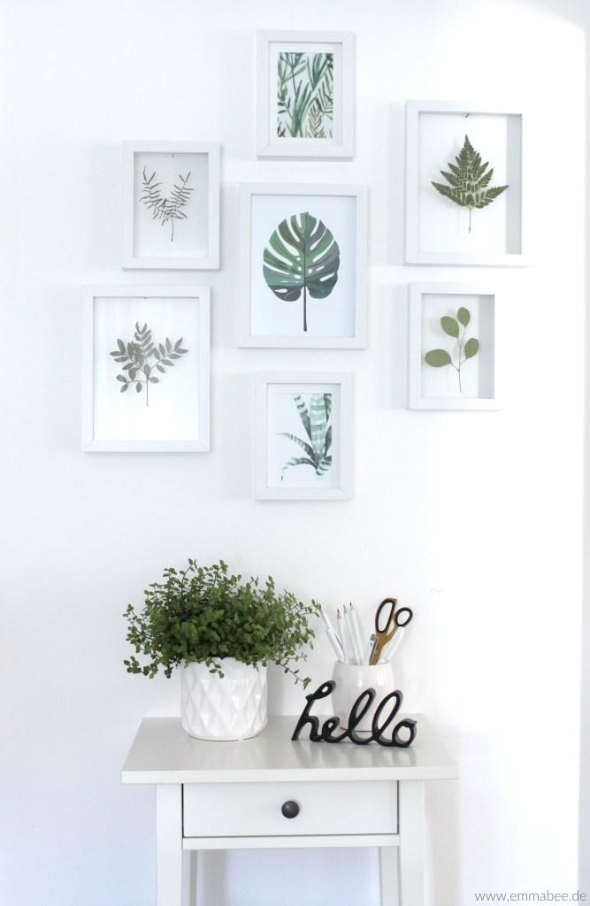{DIY} Floating-Frames für Deine gepressten Blumen und Blätter