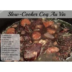 Small Crop Of Coq Au Vin Slow Cooker