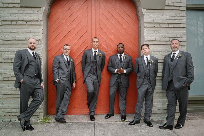 the groomsmen | photo: Photos by Kristopher | via http://emmalinebride.com