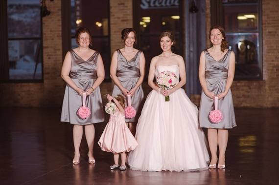 LaCoursiere Photography - bride and bridesmaids