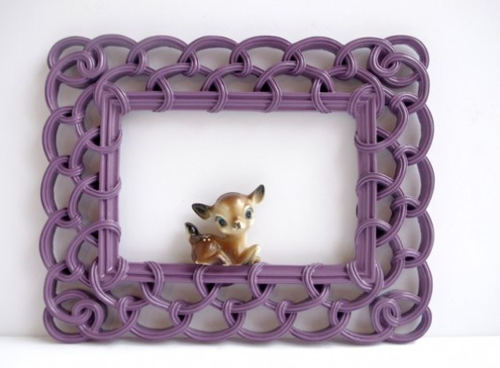 decorative purple frame