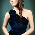 convertible bridesmaid dress navy blue