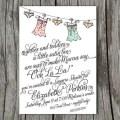 lingerie bridal shower invite