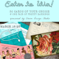 win free wedding cards and earrings