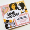 comic save the date