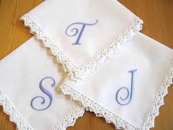 handmade handkerchiefs