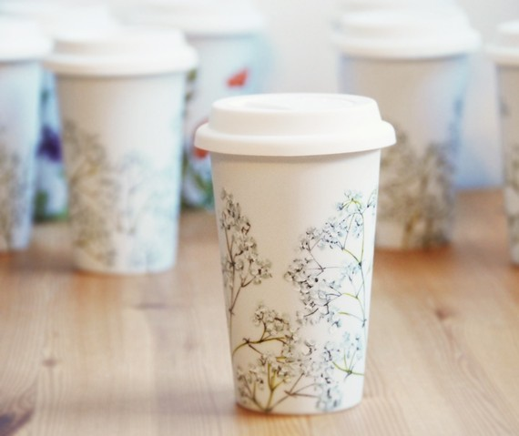 bridesmaid travel mugs - handmade wedding