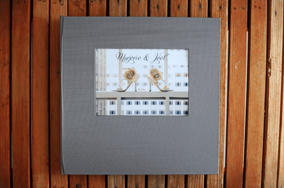 how to display wedding photographs