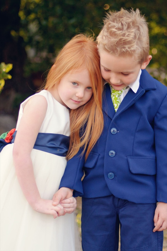 ring bearer and flower girl