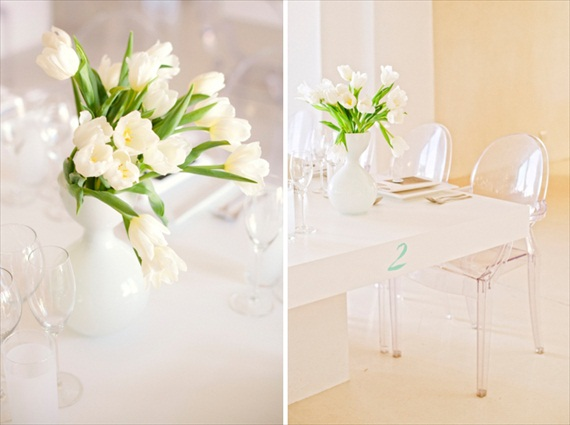 how to decorate your reception