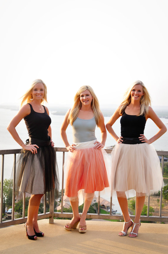 bridesmaid skirt