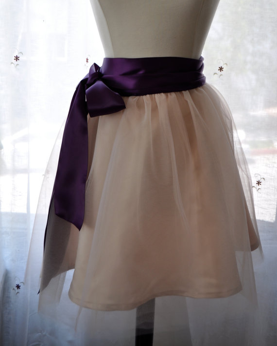 tulle bridesmaid skirt