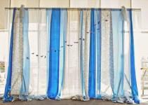 ceremony backdrops in blue