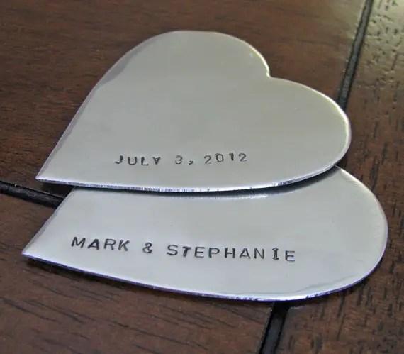 heart duo cake topper