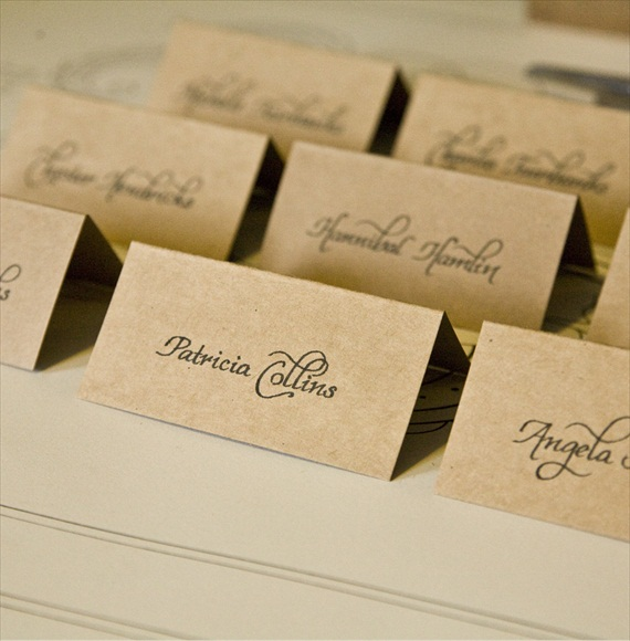 Wedding Calligraphy Ideas Handmade Wedding Emmaline Bride