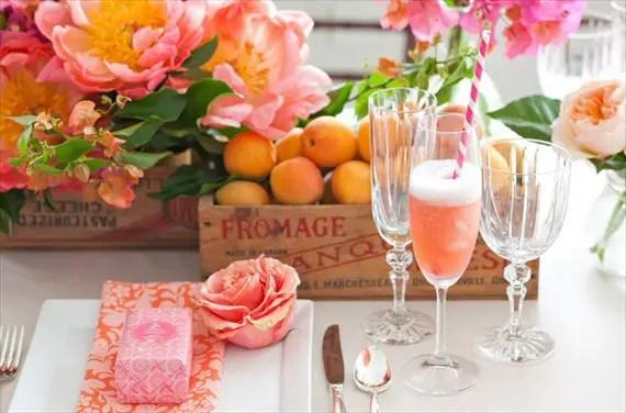 diy champagne bar