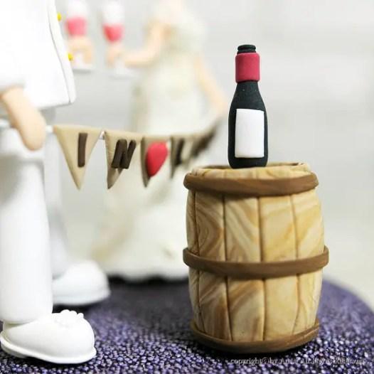 wine cake topper - 3