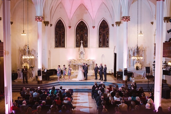 LaCoursiere Photography - bride and groom at the altar