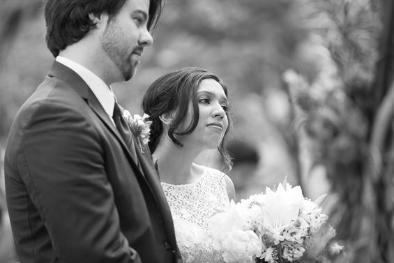 Daniel Fugaciu Photography - bride and groom outdoor wedding at the tyler arboretum