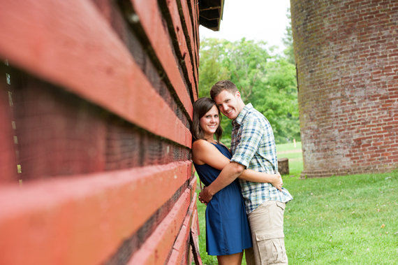 Scott Smith Photography - red barn engagement session