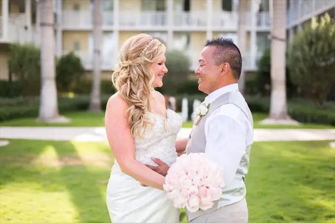 Key West Wedding Dresses 11 Fancy Kristine Mike Wedding bride