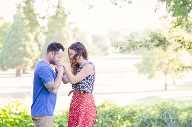 hipster engagement session | Photo: White Ivory Photography | via http://emmalinebride.com/real-weddings/hipster-engagement-session-what-does-one-look-like/