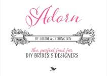 adorn-wedding-font