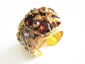 amber cuff bracelet