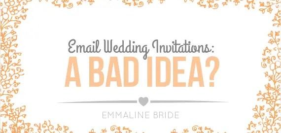 are-email-wedding-invitations-a-bad-idea
