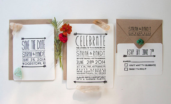 Stamp Your Own Invitations by NATIVE BEAR